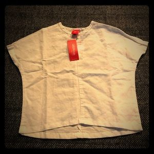 Other - White short shirt sleeved blouse. NWT size2T